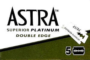Astra Platinum Razor Blades