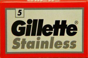 Lamette Gillette Stainless
