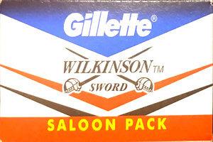 Gillette Wilkinson Razor Blades