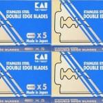 20 kai stainless steel razor blades