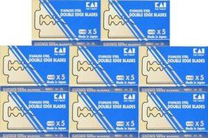 40 kai stainless steel razor blades