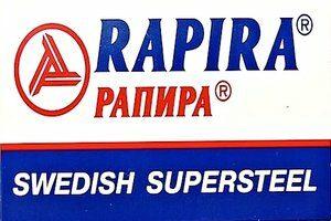 Rapira Swedish SuperSteel Razor Blades