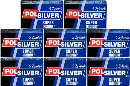 40 lamette polsilver