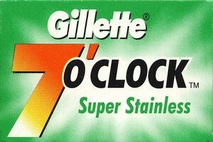 Gillette 7 OClock Super Stainless