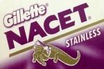 Gillette Nacet Razor Blades