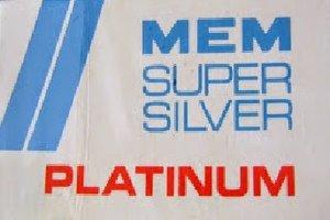MEM Super Silver Razor Blades