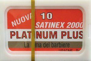 Satinex 2000 Platinum Plus Razor Blades