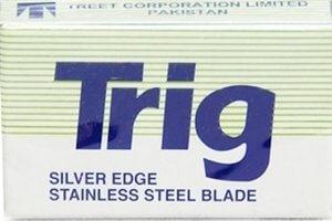 Trig – Silver Edge Razor Blades