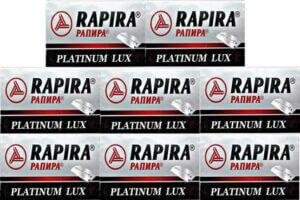 40 rapira platinum lux razor blades