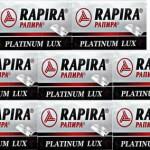40 lamette rapira platinum lux