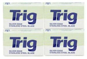 40 treet trig Razor Blades