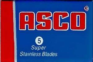 Asco Super Stainless Razor Blades