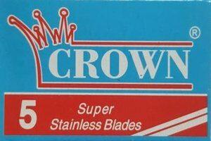 Crown Super Stainless Razor Blades