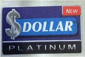 Lamette Dollar Platinum