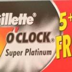 Gillette 7 o'Clock Super Platinum Razor Blades