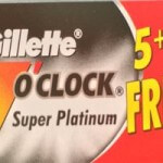Lamette Gillette 7 OClock Super Platinum