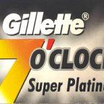 Lamette da Barba Gillette 7 o' clock Super Platinum