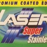 Laser Super Stainless Razor Blades