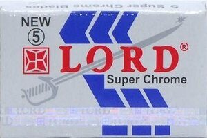 Lord Super Chrome Razor Blades
