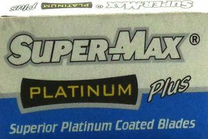 Super-Max Platinum Plus Razor Blades