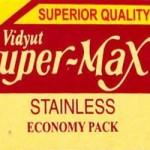 Super-Max Stainless Razor Blades