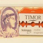 Timor - Stainless Steel Razor Blades