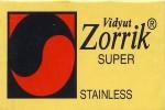 Zorrik Super Stainless Razor Blades