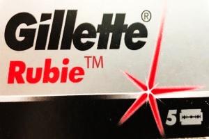 Lamette da Barba Gillette Rubie Platinum