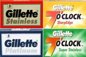 Sampler di qualità Gillette (20 Lamette)
