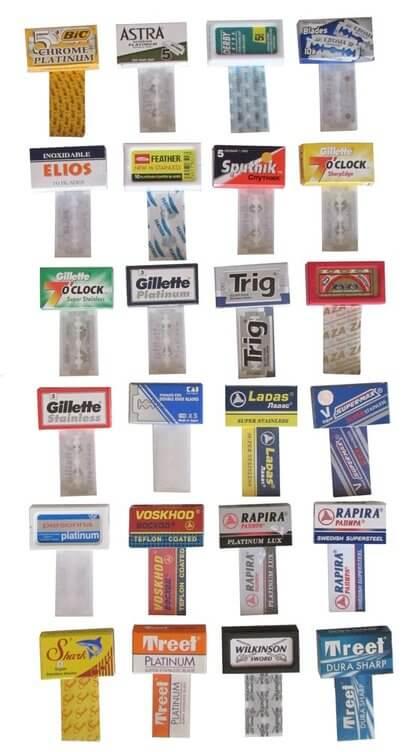 24 quality blades sampler