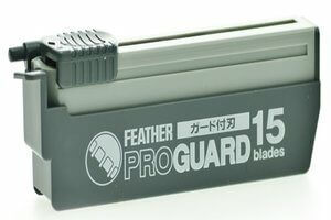 Feather Pro Guard Razor Blades