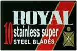 Personna Royal Razor Blades
