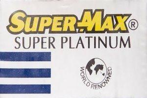 Super-Max Super Platinum Razor Blades