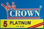 Crown Platinum Razor Blades