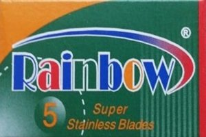 Rainbow Razor Blades