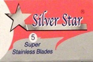 Silver Star Razor Blades