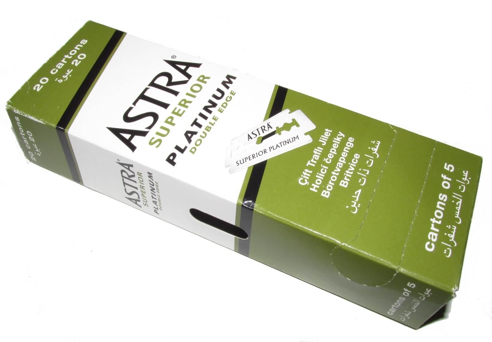 ASTRA – Superior Platinum double edge blades