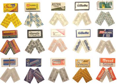 30 blades sampler (15×2)