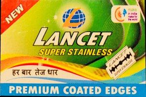 Lancet Super Stainless Razor Blades