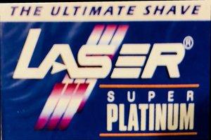Lamette da barba Laser Super Platinum