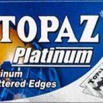 Topaz Platinum Razor Blades