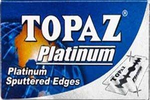 Lamette da barba Topaz Platinum