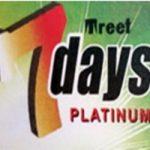 Lamette da barba Treet 7 Days Platinum