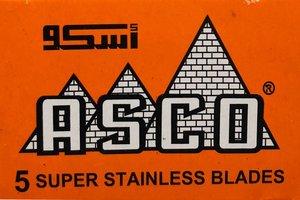 Asco Orange Razor Blades