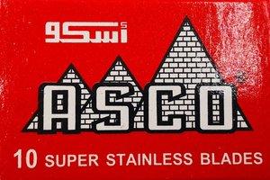 Asco Red Razor Blades