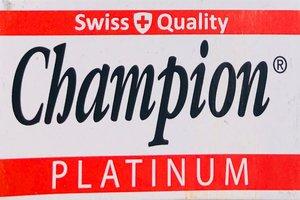 Champion Platinum Razor Blades