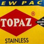 Topaz Stainless Razor Blades