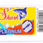 Lamette da barba Shark Platinum