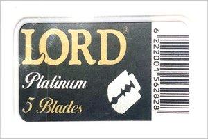 Lamette da Barba Lord Platinum Premium