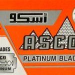 Asco Platinum Razor Blades